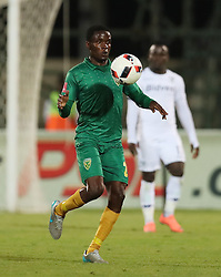 Danny Phiri of Golden Arrows during the 2016 Premier Soccer League match between Golden Arrows and Bidets Wits held at the Princess Magogo Stadium in Durban, South Africa on the 14th December 2016<br /> <br /> Photo by:   Steve Haag / Real Time Images