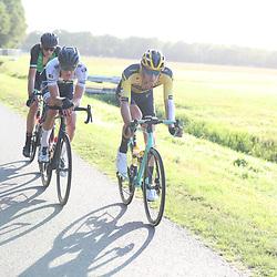 22-08-2020: Wielrennen: NK vrouwen: Drijber<br /> Mick Van Dijke (Netherlands / Team Jumbo Visma Academy), Stijn Daemen (Netherlands / Team A Bloc CT)
