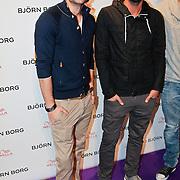 NLD/Amsterdam/20110204 - Modeshow Bjorn Borg 2011, Robin Zijlstra