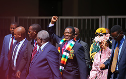 Zimbabwe. 26.08.18. Thousands of Zimbabweans and foreign dignitaries, including South African President Cyril Ramaphosa, attended the swearing-in ceremony of Zimbabwe's President Emmerson Mnangagwa in Harare on Sunday. Picture:Shepard Tozvireva/African News Agency (ANA)