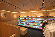 Super Superficial Earlham Street Store. T-shirt boutique designed by Sang Lee Architecture. Located at 22 Earlham Street, Covent Garden London, UK