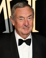 Nick Mason attending the BFI's Luminous fundraising gala, held at the Guildhall, London. Picture date: Tuesday October 3rd, 2017. Photo credit should read: Doug Peters/EMPICS Entertainment