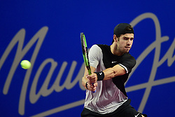February 8, 2018 - Montpellier, France, France - Karen Khachanov  (Credit Image: © Panoramic via ZUMA Press)