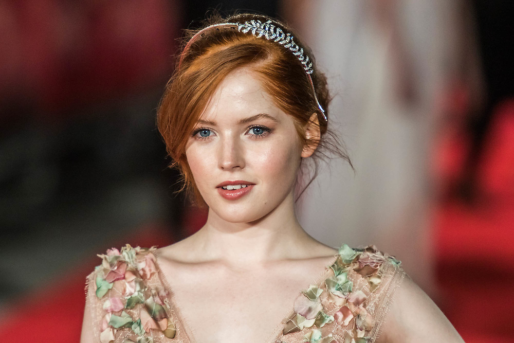 Ellie Bamber - The European premiere of Pride and Prejudice and Zombies.