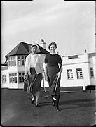 U.S. golfers at Portmarnock..10.10.1960