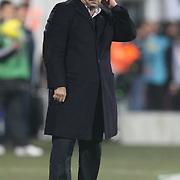 Galatasaray's coach Fatih TERIM during their Turkish Superleague Derby match Besiktas between Galatasaray at the Inonu Stadium at Dolmabahce in Istanbul Turkey on Sunday, 20 November 2011. Photo by TURKPIX