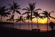 Sunset, Kaluakoi, Molokai, Hawaii, USA<br />