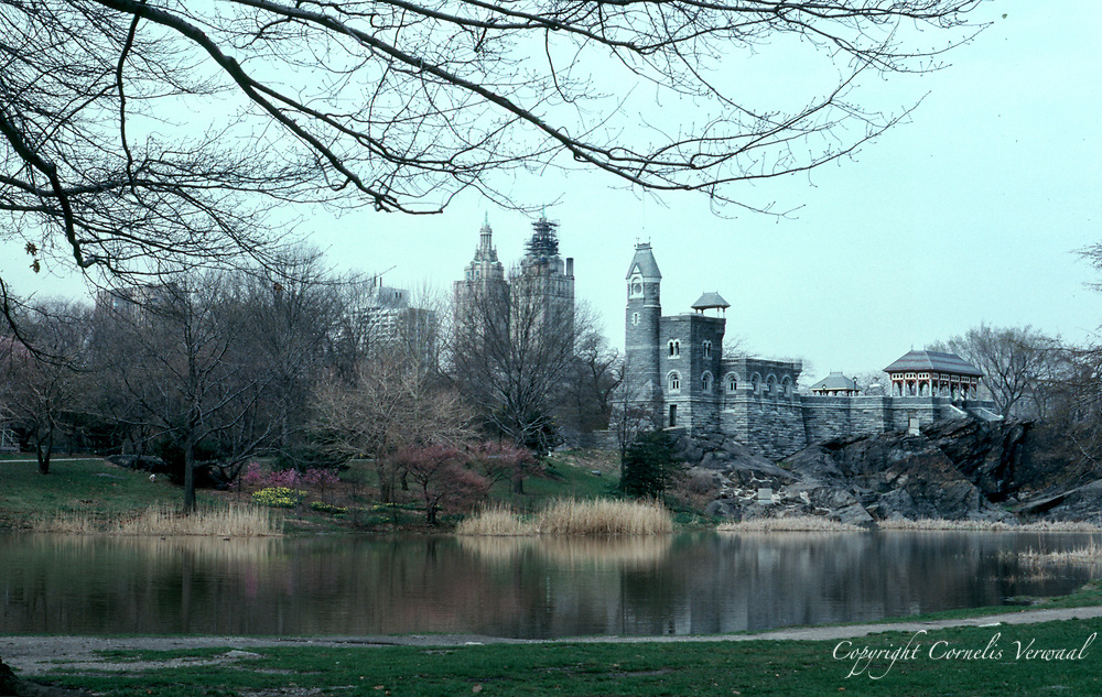 Belvedere Castle and Turtle Pond in Central Park