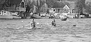 Kingston on Thames, United Kingdom.    The final Round of the Leyland Daf Sprint series, at Kingston RC on the River Thames, Surrey, England, <br /> Leading, Dave RICHES,<br /> Saturday 04.05.1987<br /> <br /> [Mandatory Credit; Peter Spurrier/Intersport-images] 1987 Leyland Daf Sprints, Kingston. UK