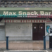 Max Snack Bar. <br /> 18 Brixton Station Road.<br /> The Figuera family opened Max Snack Bar 30 years ago.
