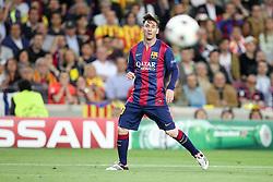 06.05.2015, Camp Nou, Barcelona, ESP, UEFA CL, FC Barcelona vs FC Bayern Muenchen, Halbfinale, Hinspiel, im Bild Lionel Messi #10 (FC Barcelona) // during the UEFA Champions League semi finals 1st Leg match between FC Barcelona and FC Bayern Munich at the Camp Nou in Barcelona, Spain on 2015/05/06. EXPA Pictures © 2015, PhotoCredit: EXPA/ Eibner-Pressefoto/ Kolbert<br /> <br /> *****ATTENTION - OUT of GER*****
