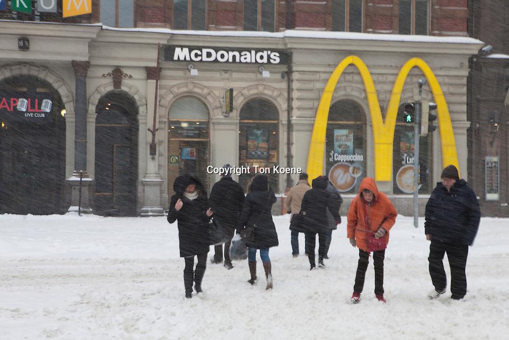 Mc donalds in Helsinki