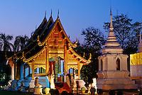 Thailande, Chiang Mai, Wat Phra Singh // Thailand, Chiang Mai, Wat Phra Singh