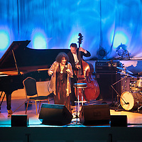 Dame Cleo Laine performing live at Cheltenham Jazz Festival, 2011-04-27