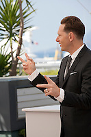 Matt Ross, director, at the Captain Fantastic film photo call at the 69th Cannes Film Festival Tuesday 17th May 2016, Cannes, France. Photography: Doreen Kennedy