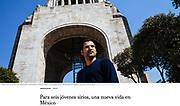 """""""Para seis jóvenes sirios, una nueva vida en México"""", The New York Times, Mexico, Febrero 15, 2017. Fotos por Rodrigo Cruz."""