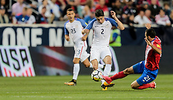 September 1, 2017 - Harrison, NJ, USA - Harrison, N.J. - Friday September 01, 2017:   Jorge Villafaña during a 2017 FIFA World Cup Qualifying (WCQ) round match between the men's national teams of the United States (USA) and Costa Rica (CRC) at Red Bull Arena. (Credit Image: © John Dorton/ISIPhotos via ZUMA Wire)
