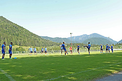 06.07.2015, Sportplatz St. Ulrich, St. Ulrich am Pillersee, AUT, Trainingslager, 1. FC Heidenheim, im Bild Vor herrlicher Kulisse kann der FC Heidenheim sein Trainingslager abhalten // during the Trainingscamp of German 2nd Bundesliga Club 1. FC Heidenheim at the Sportplatz St. Ulrich in St. Ulrich am Pillersee, Austria on 2015/07/06. EXPA Pictures © 2015, PhotoCredit: EXPA/ Eibner-Pressefoto/ Fudisch<br /> <br /> *****ATTENTION - OUT of GER*****