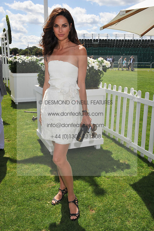 TASHA DE VASCONCELOS MOTA E CUNHA at the 27th annual Cartier International Polo Day featuring the 100th Coronation Cup between England and Brazil held at Guards Polo Club, Windsor Great Park, Berkshire on 24th July 2011.