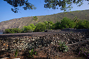 Keaiwa Heiau, Kealakekua Bay; Island Of Hawaii;