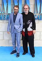 Bjorn Ulvaeus, Benny Andersson, Mamma Mia! Here We Go Again - World premiere, Eventim Apollo, Hammersmith, London, UK, 16 July 2018, Photo by Richard Goldschmidt
