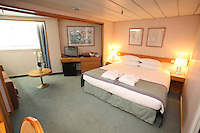 Voyages of Discovery's newly refurbished ship mv Voyager..Junior suite