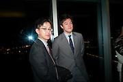 JEFFREY LAI'; JONATHAN CROCKETT, Yayoi Kusama opening. Tate Modern. London. 7 February 2012