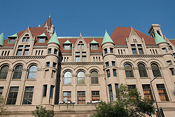 Minnesota, Twin Cities, Minneapolis-Saint Paul: The Landmark Building in downtown St Paul, by Rice Park.  This former Federal Building now hosts arts organizations..Photo mnqual289-75281..Photo copyright Lee Foster, www.fostertravel.com, 510-549-2202, lee@fostertravel.com.
