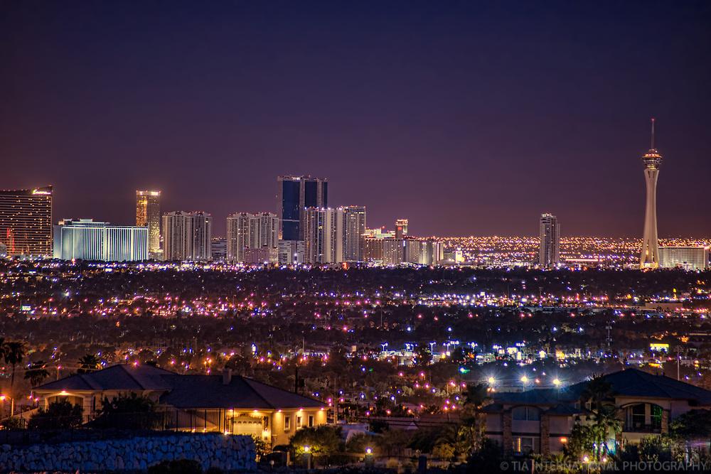 Las Vegas Strip Skyline @ Twilight