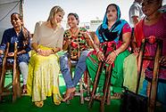 KONINGIN MAXIMA IN INDIA DAG 2