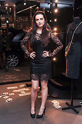 KATIE McGRATH at a party hosted by InStyle to celebrate the iconic glamour of Dolce & Gabbana held at D&G, 6 Old Bond Street, London on 3rd November 2010.