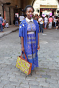 13 September-Brooklyn, New York: Actress Maameyea Boafa attends the Essence Street Style Block Party held at The Dumbo Archway Under the Manhattan Bridge on September 13, 2015 in the DUMBO section of Brooklyn, New York.   (Photo by Terrence Jennings/terrencejennings.com)