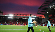 West Ham players warm up before the Premier League match at Anfield Stadium, Liverpool. Picture date: December 11th, 2016.Photo credit should read: Lynne Cameron/Sportimage