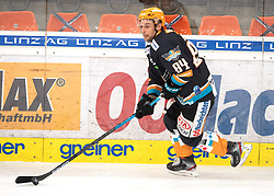 03.01.2021, Keine Sorgen Eisarena, Linz, AUT, ICE, Black Wings 1992 vs iClinic Bratislava Capitals, im Bild Dragan Umicevic (Steinbach Black Wings 1992) // during the bet-at-home ICE Hockey League match between Black Wings 1992 and iClinic Bratislava Capitals at the Keine Sorgen Eisarena in Linz, Austria on 2021/01/03. EXPA Pictures © 2020, PhotoCredit: EXPA/ Reinhard Eisenbauer