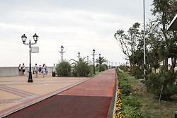 June 16, 2018 - Sochi, Rússia - SOCHI, SC - 16.06.2018: GENERAL PHOTOS SOCHI 2018 - Cycle path near the Olympic Stadium of Fisht in Sochi in Russia. (Credit Image: © Ricardo Moreira/Fotoarena via ZUMA Press)