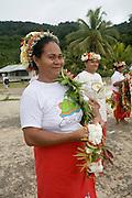 Welcoming ceremony, Kioa Island, Fiji, Melanesia, South Pacific