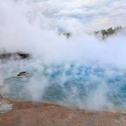 Steaming Geyser Pool - Yellowstone National Park