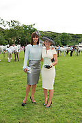 09/08/2012 Repro free first use. Gillian Quinn who judged the best dressed at the  Connemara Pony Show in  with Goda Faherty from Oughterard Co. Galway  winner of the best dressed Competition at the Connemara Pony Show in Clifden County Galway . Photo:Andrew Downes.