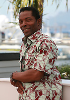 Actor Isaach De Bankolé at the photo call for the film Run at the 67th Cannes Film Festival, Saturday 17th May 2014, Cannes, France.
