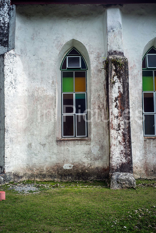 The Cook Island Christian Church CICC in Avarua, Rarotonga, The Cook Islands. Rarotonga is the capital and the most populous island of the Cook Islands. Captain John Dibbs, master of the colonial brig Endeavour, is credited as the European discoverer on 25 July 1823, while transporting the missionary Rev. John Williams.