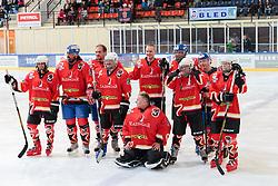 Red team at Poslovilna tekma Tomaza Razingarja, on July 16, 2016 in Ledna dvorana, Bled, Slovenia. Photo by Gregor Podrekar / Sportida