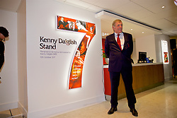 LIVERPOOL, ENGLAND - Friday, October 13, 2017: Kenny Dalglish at the renaming of the Centenary Stand to be called the Kenny Dalglish Stand. (Pic by David Rawcliffe/Propaganda)