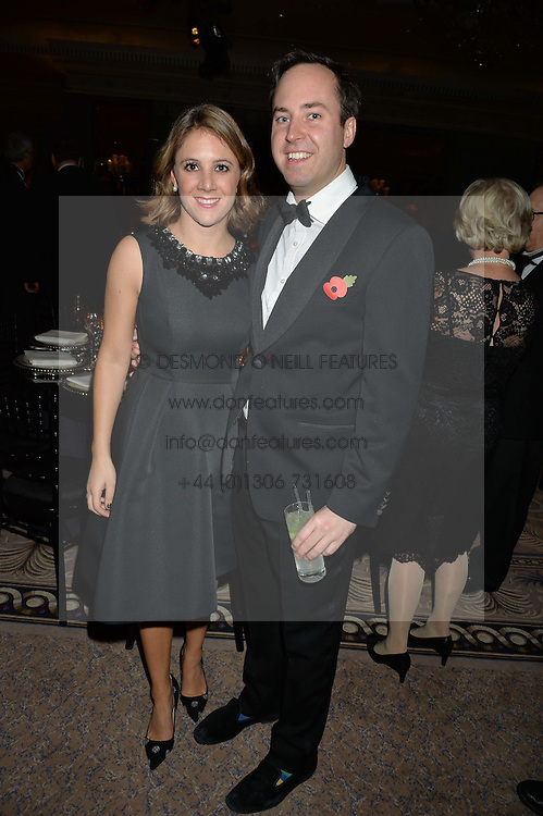 JAMIE & LOTTIE MURRAY-WELLS at the 26th Cartier Racing Awards held at The Dorchester, Park Lane, London on 8th November 2016.