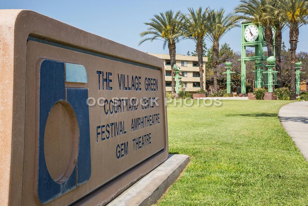 The Village Green Park Garden Grove