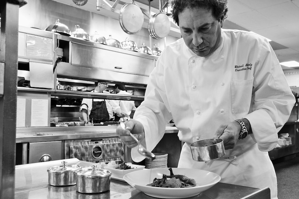 Executive Chef Mitchell Altholz in the kitchen