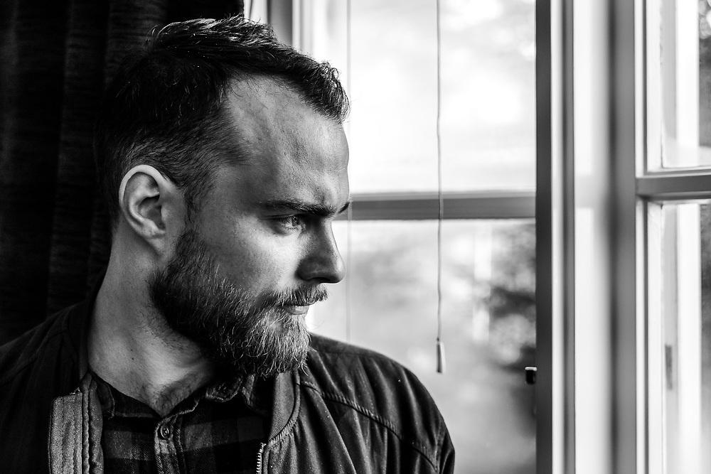 Portrait photo of Icelandic singer-songwriter Ásgeir at Iceland Airwaves