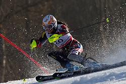 19.02.2011, Gudiberg, Garmisch Partenkirchen, GER, FIS Alpin Ski WM 2011, GAP, Damen, Slalom, im Bild Ana Jelusic (CRO) // Ana Jelusic (CRO) during Ladie's Slalom Fis Alpine Ski World Championships in Garmisch Partenkirchen, Germany on 19/2/2011. EXPA Pictures © 2011, PhotoCredit: EXPA/ M. Gunn