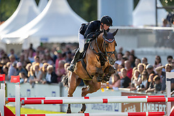 NIEBERG Gerrit (GER), Ben 431<br /> Aachen - CHIO 2019<br /> Sparkassen-Youngsters-Cup - FINALE<br /> Springprüfung für junge Pferde mit Stechen<br /> 20. Juli 2019<br /> © www.sportfotos-lafrentz.de/Stefan Lafrentz