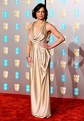 Michelle Rodriguez attending the 72nd British Academy Film Awards held at the Royal Albert Hall, Kensington Gore, Kensington, London.
