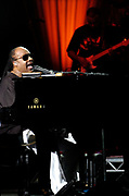 """MANSFIELD, Mass. 06/22/08 -- Stevie Wonder performs """"As If You Read My Mind"""" at the Comcast Center on Sunday, June 22, 2008. Christine Hochkeppel for The Boston Globe."""